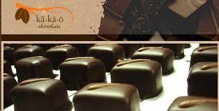Dark Chocolate Truffles displayed